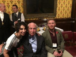 Ren Kapur, Lord Young of Graffham and Louis Nethercott