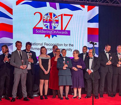 Photo of 2017 Soldiering On Awards winners