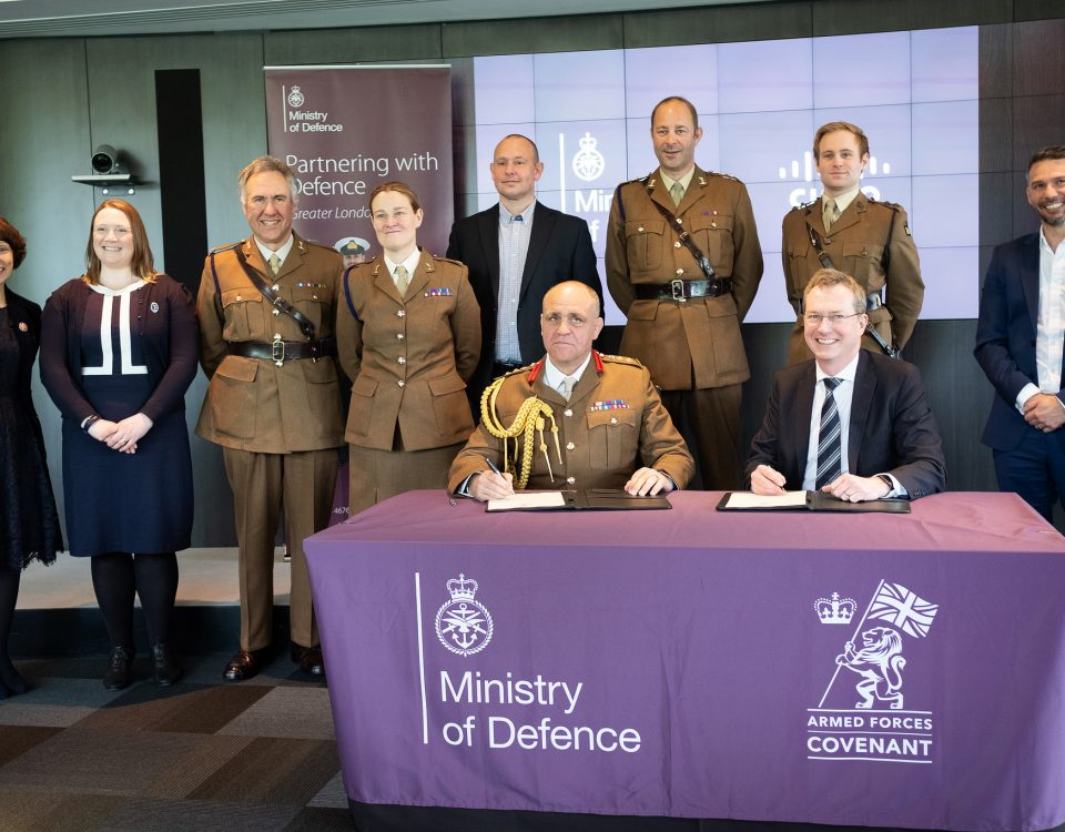 CISCO Signs the Armed Forces Covenant