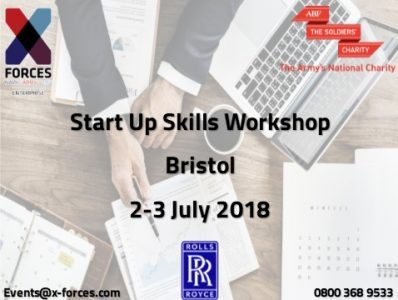 X-Forces - Bristol, Start Up Skills Workshop