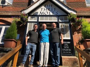 Lord Young, Tom Richardson, Ollie Boulton (The Three Moles Pub)