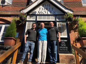Lord Young, Tom Richardson, Ollie Boulton (The Three Moles Pub)