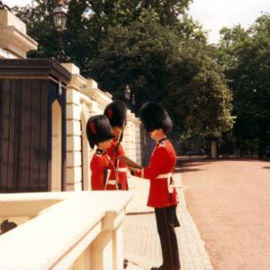 Royal Guard at Buckingham Palace and Windsor Castle