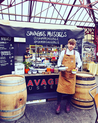 Savages Mussels at Altrincham Market