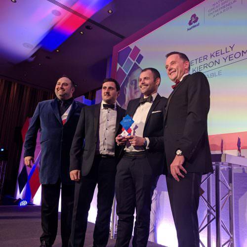 NatWest Great British Entrepreneur Award win for XFE Beneficiaries