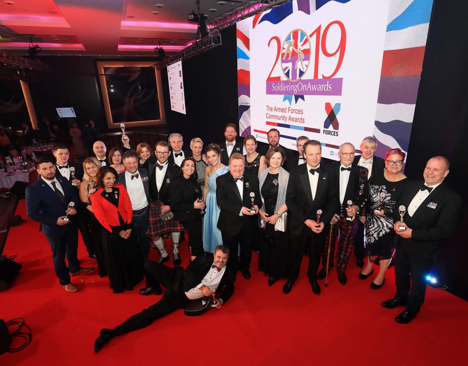 2019 Soldiering On Awards Winners