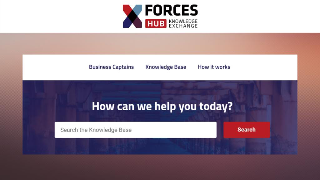 XFE Hub web page header (4)