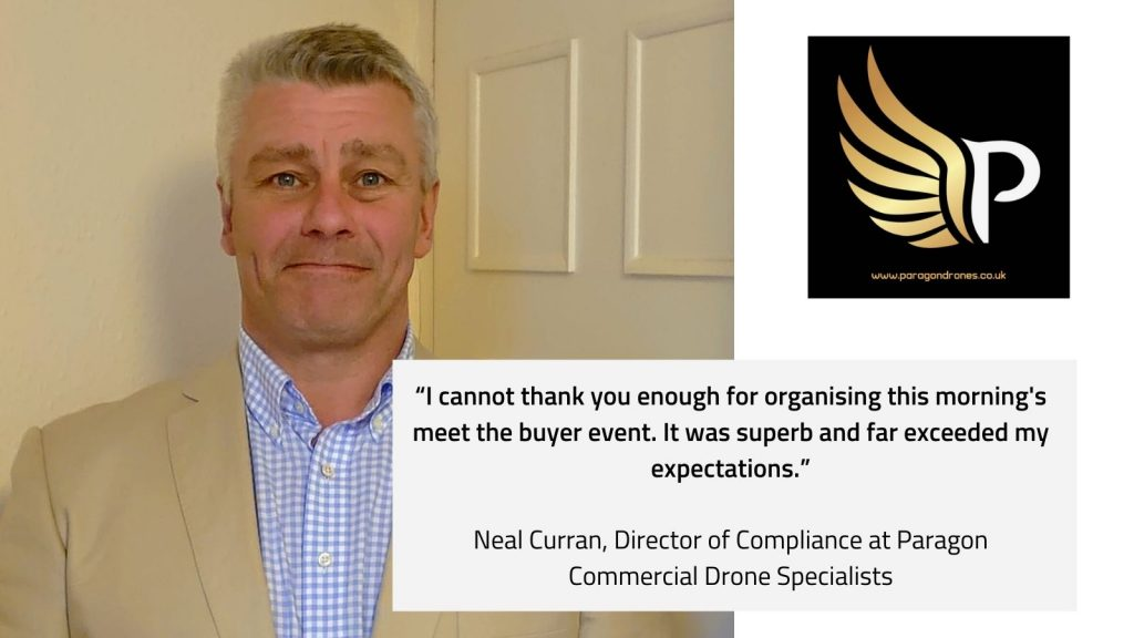 Neal Curran, Director of Compliance at Paragon Commercial Drone Specialists